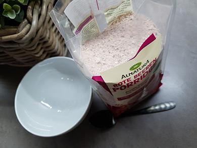 Alnatura, Rote Beeren Porridge